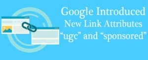 Google's New Link Attributes