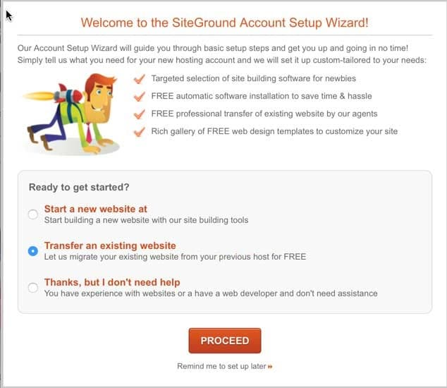 Siteground review Free-Migration